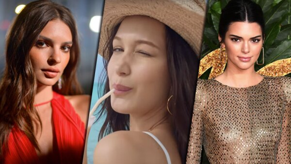Emily Ratajkwoski, Bella Hadid y Kendall Jenner