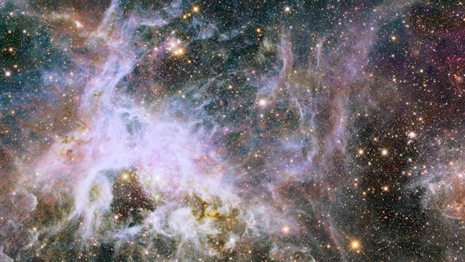 Los científicos del Hubble dicen que esta es la mejor vista de la Nébula Tarántula