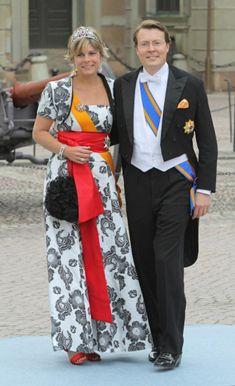 Lorena de los Países Bajos no es de aquellas royals que encabezan las listas de las mejores vestidas.
