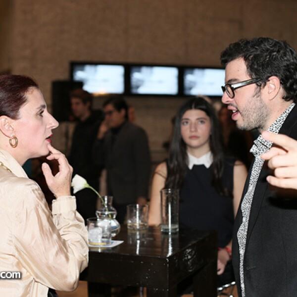 Ana Escalante y Rodrigo Peñafiel