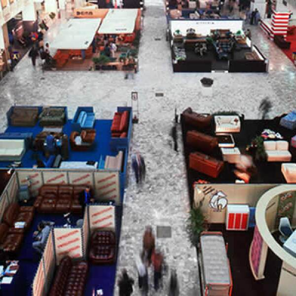 En un espacio de 200,000 las mejores marcas y diseñadores de muebles expusieron sus nuevas líneas.