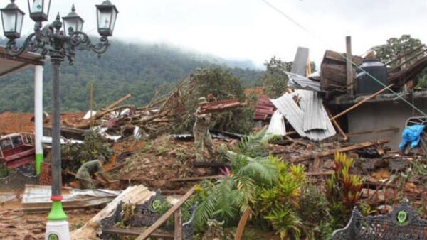 Tormenta tropical Manuel y Hurac�n Ingrid