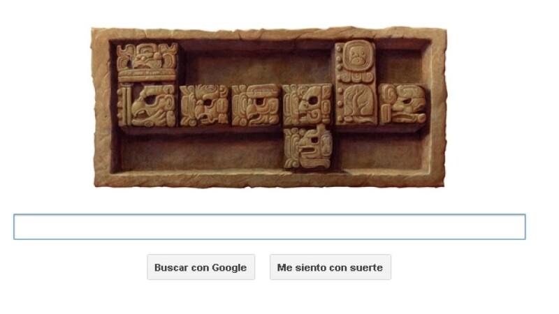 Google, doodle, maya, baktun 13
