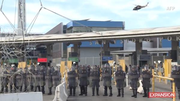 Simulacro de las fuerzas armadas de EU eleva la tensión en la frontera