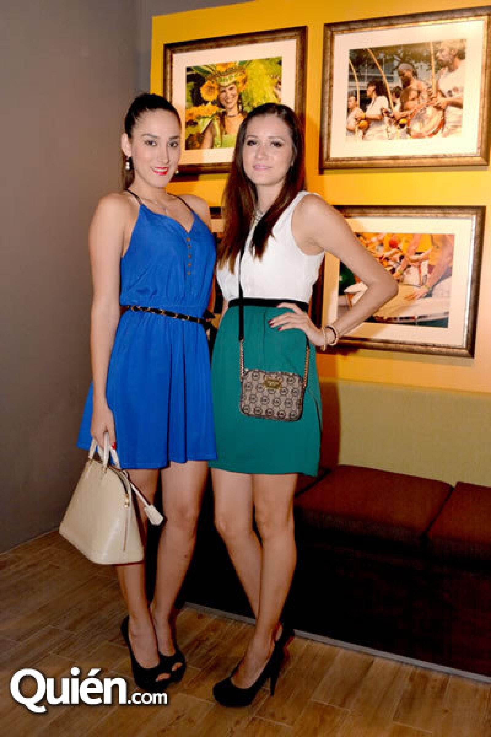 Alejandra Villarreal y Annie Ortíz
