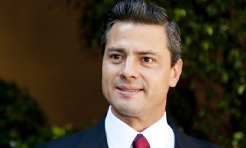 Enrique Peña Nieto considera que la reputación de su partido afecta en los resultados de la encuesta a empresarios. (Foto: Alejandro Hernández)