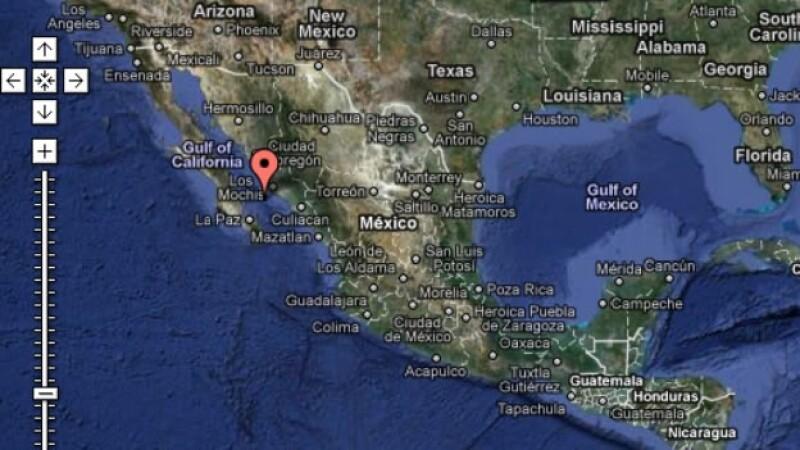 sismo en el golfo de california