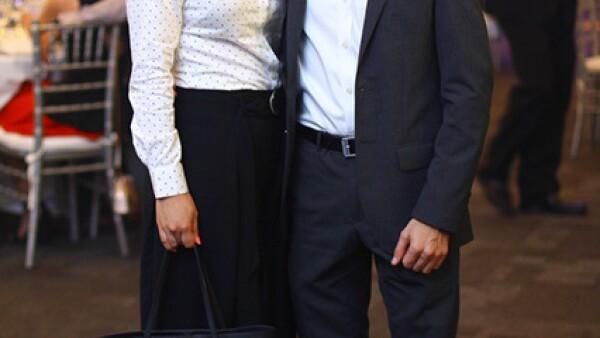 Mariana Islas y Alejandro Madero