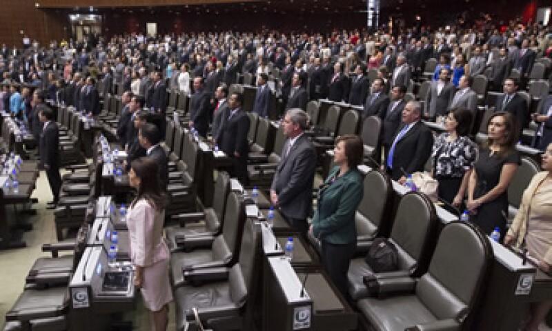 Los diputados prevén que la discusión en el Pleno dure una semana. (Foto: Notimex)