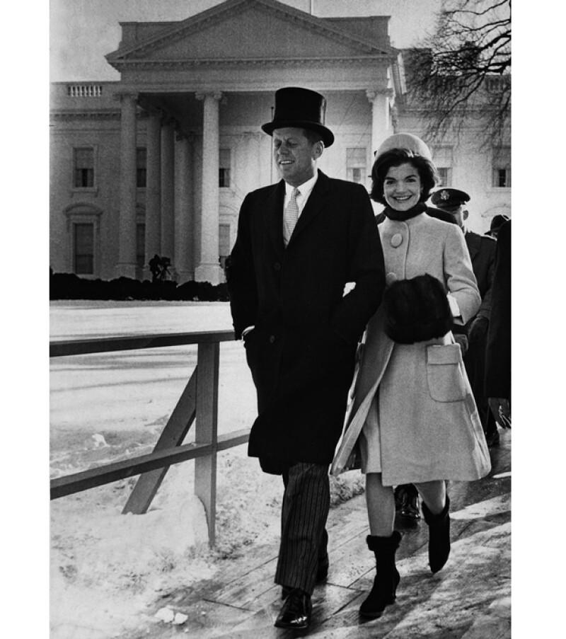 Esta es una de las escasas fotos que existen del ex presidente utilizando sombrero.