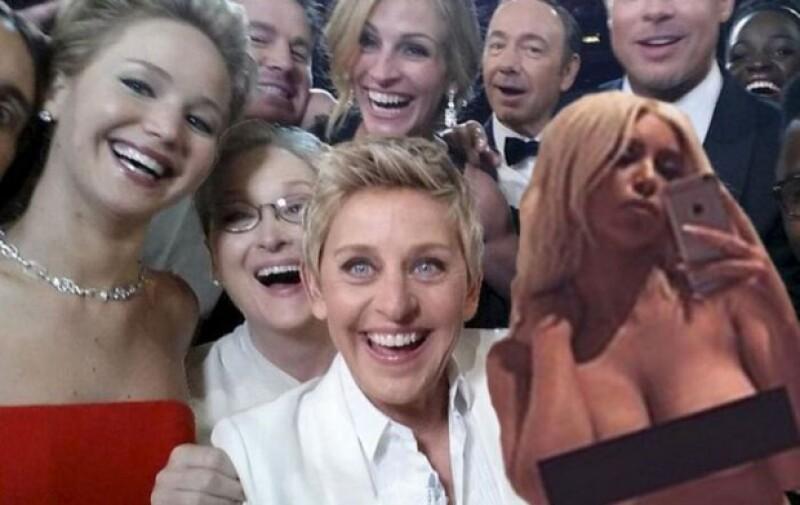 Si pensabas que en esta ocasión la estrella de reality no tendría memes por su foto desnuda, ¡te equivocas!