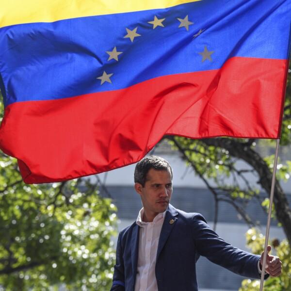 VENEZUELA-CRISIS-CLASHES-GUAIDO