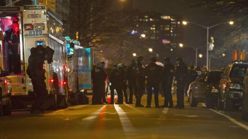 El tiroteo se produjo cerca de Myrtle y Tompkins avenidas de la sección de Bedford- Stuyvesant de Brooklyn, Nueva York
