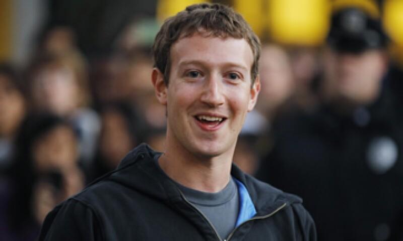 """Para Zuckerberg, salir a Bolsa """"no es un tema en el que pase mucho tiempo pensando todos los días"""". (Foto: Reuters)"""