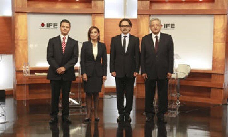 El próximo debate entre los candidatos a la presidencia de México se llevará a cabo el 10 de junio. (Foto: Reuters)
