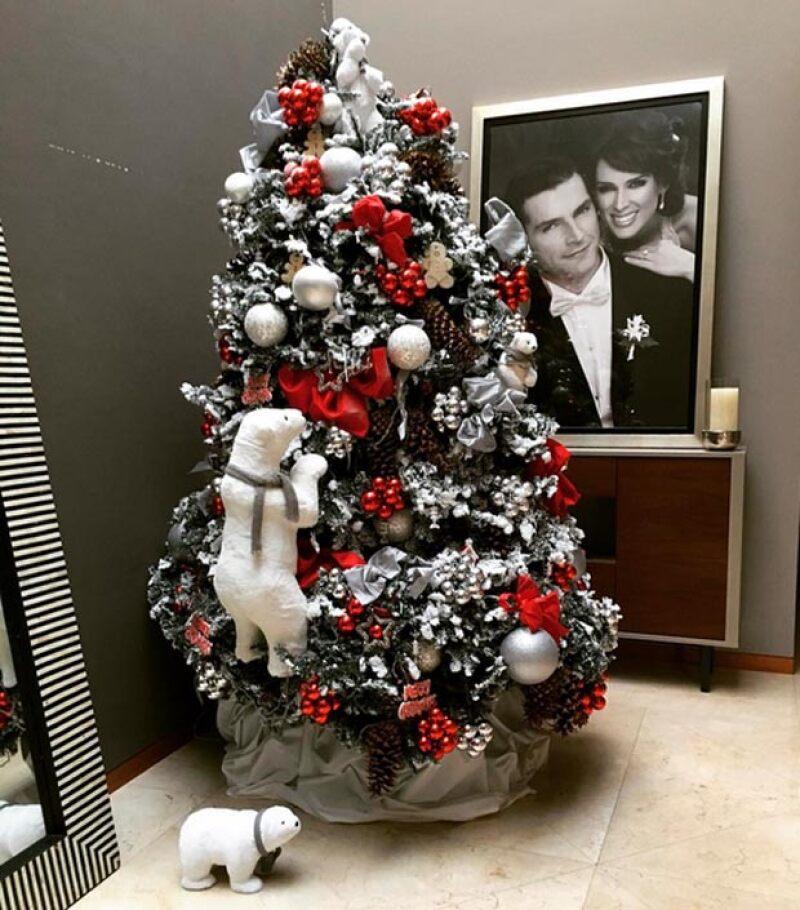 Tras publicar dicho tuit, Jacky compartió con sus seguidores que la Navidad había llegado a su casa.