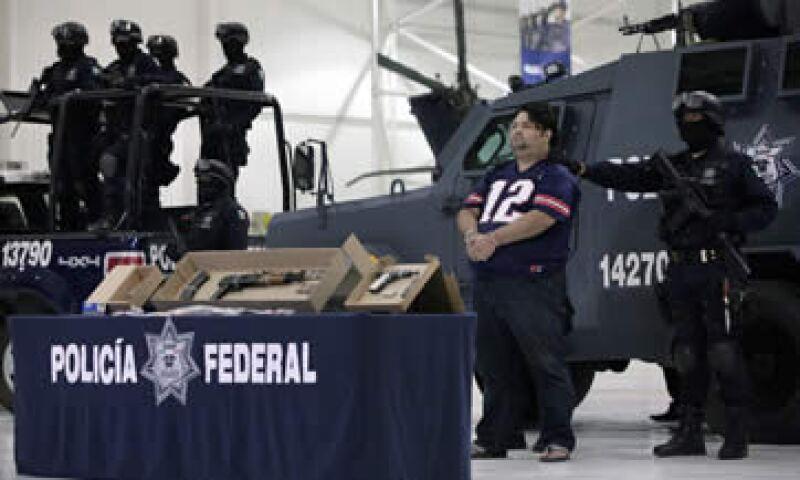La violencia en Guerrero, Michoacán y Tamaulipas afecta el desempeño de las empresas en el país. (Foto: Reuters )