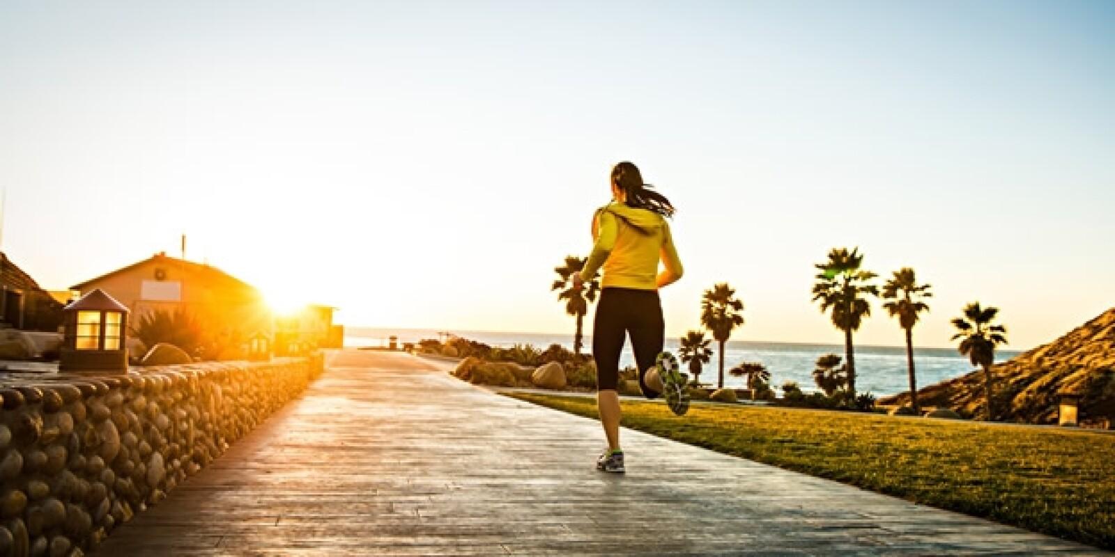 correr ejercicio aire libre