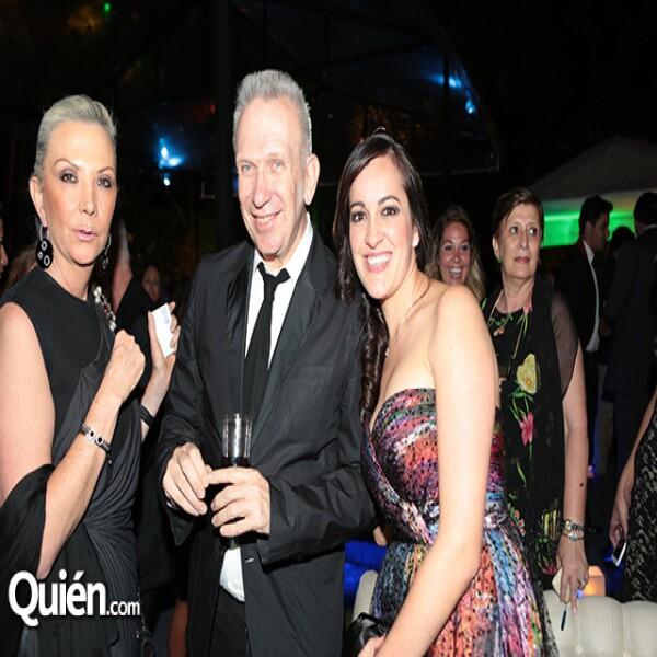 Gina Diez Barroso,Jean Paul Gaultier,Marilu Rosada