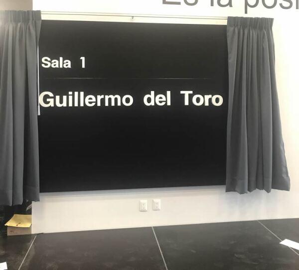 La sala Guillermo del Toro