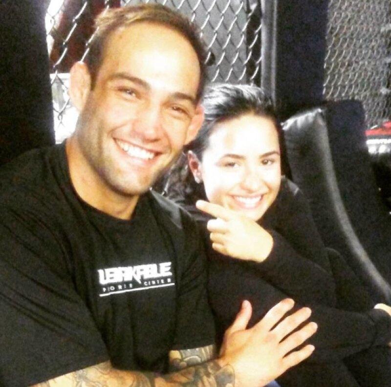 Él es Guilherme Bomba Vasconcelos, supuesto nuevo date de Demi.