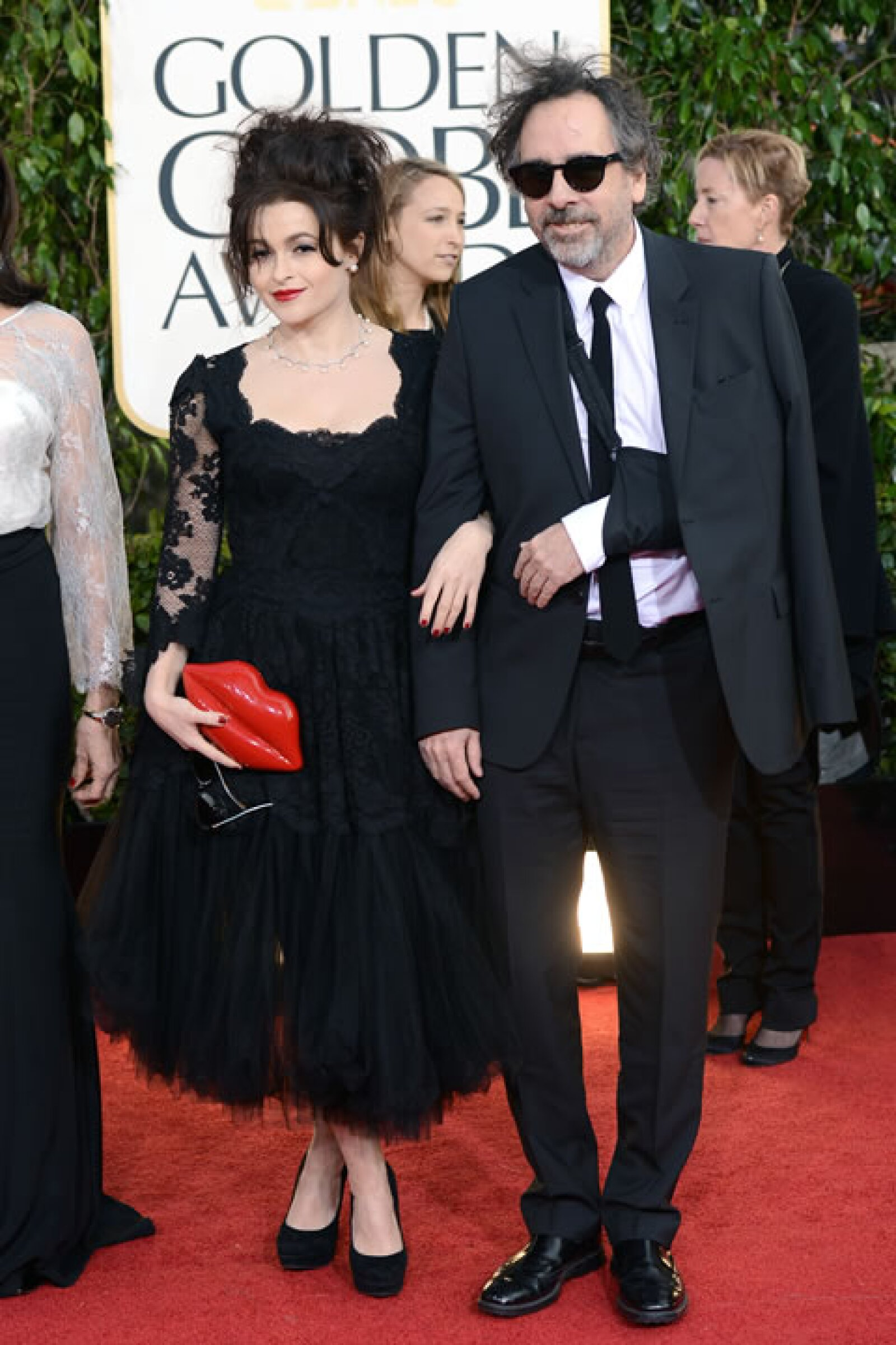 Helena Bonham Carter, Tim Burton.