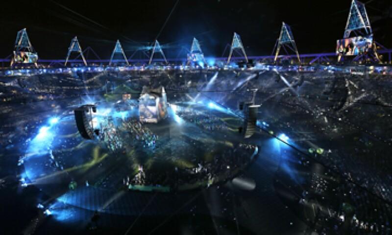 La inauguración de las Olimpiadas comenzó a las 15:00 horas de la Ciudad de México. (Foto: AP)
