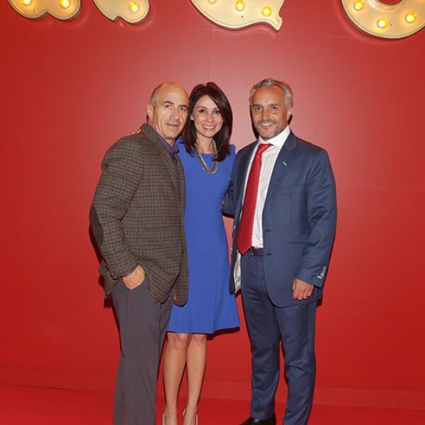 Rodolfo Gutiérrez, Susana Goitia y Nicolás Vale