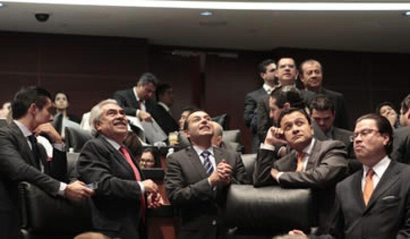 El senador panista Ernesto Cordero advirtió que el Pacto por México es un mecanismo que se ha agotado. (Foto: Notimex)