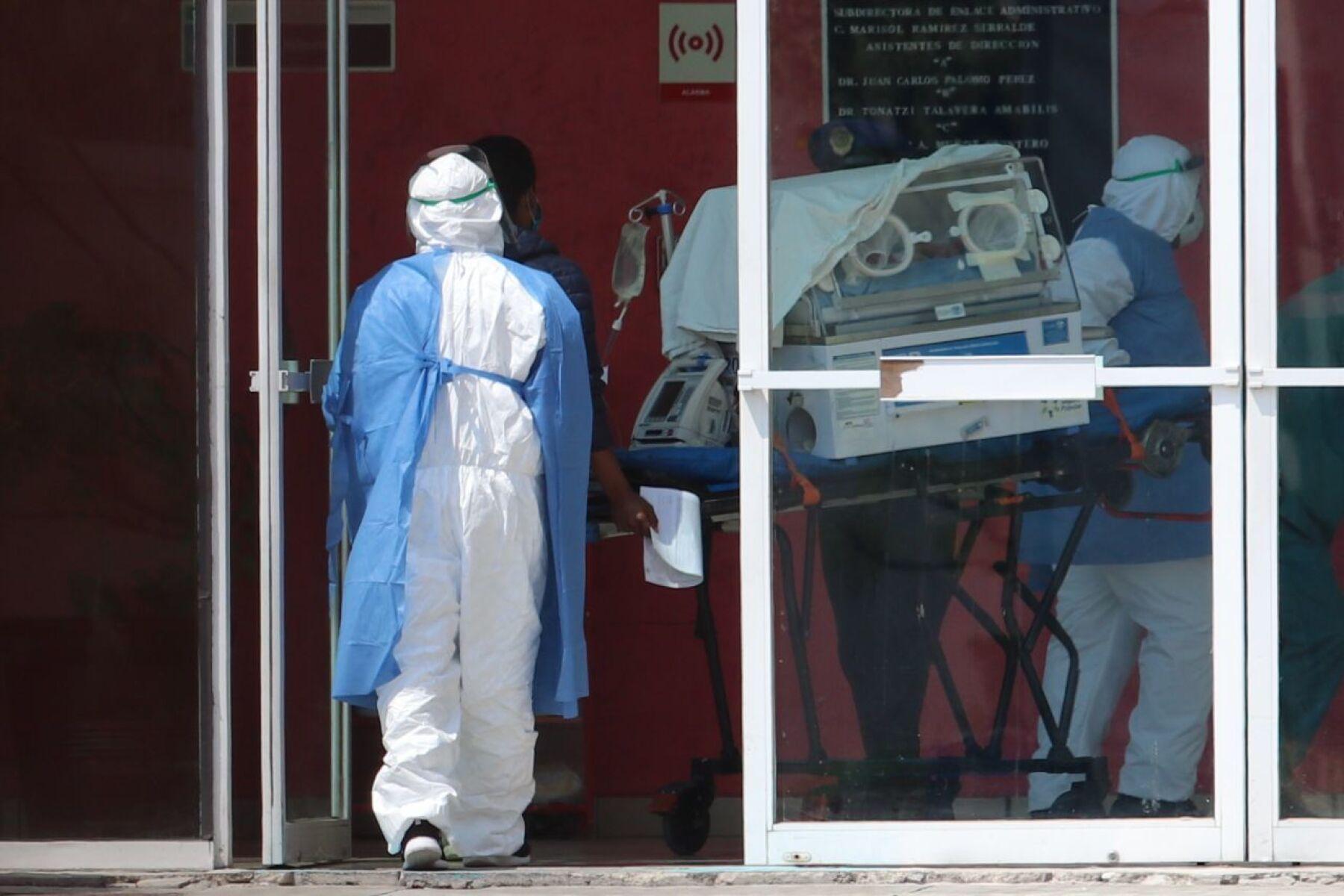 Un aparato de oxígeno para pacientes Covid-19 fue trasladado al Hospital General Tláhuac