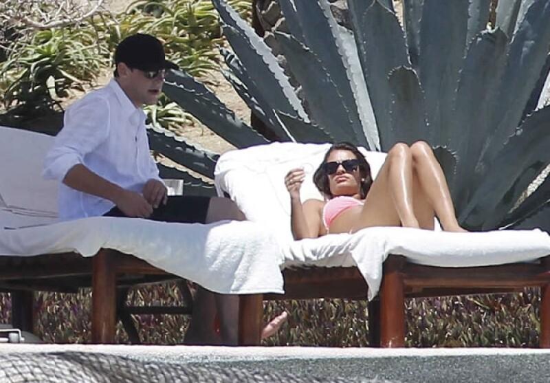 En mayo pasado la pareja viajó a Puerto Vallarta para celebrar que el actor había salido del centro de rehabilitación donde trató de superar sus adicciones.