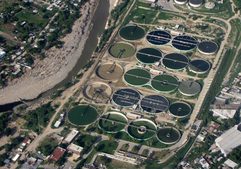 Planta tratamiento de agua residual