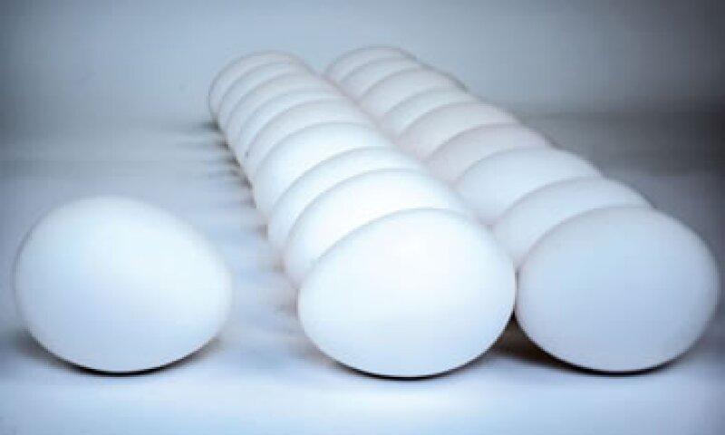 México es el quinto productor de huevo a nivel mundial con 108 millones de cajas, mientras que china ocupa la primera posición. (Foto: AP)