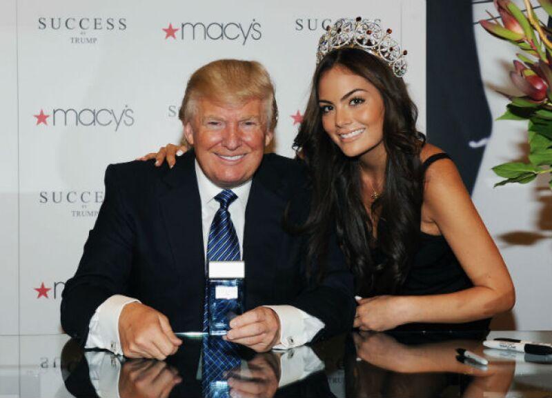 Después de los comentarios realizados hacia México por parte del empresario que ahora busca la presidencia de Estados Unidos, la ex Miss Universo ha hecho saber su opinión al respecto.