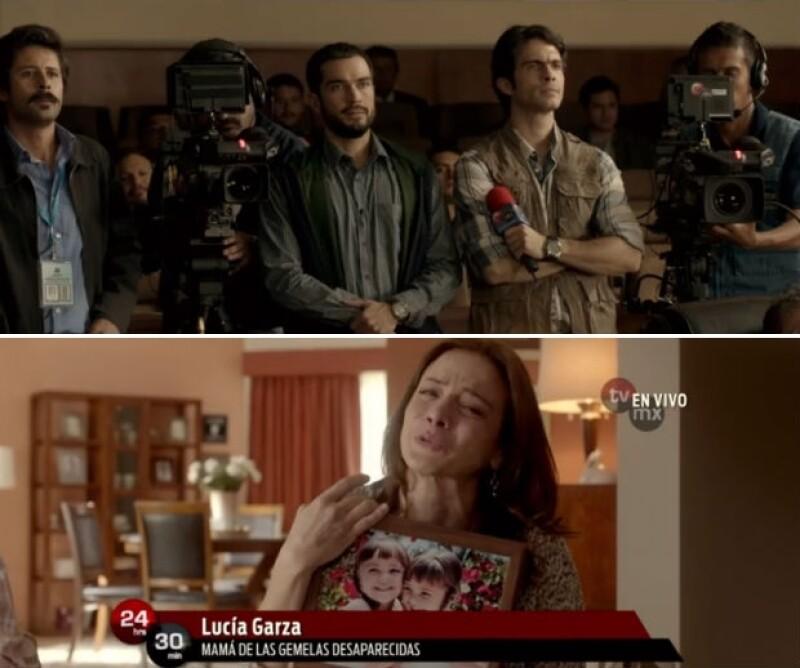 El director Luis Estrada presentó el trailer de la película en la que expondrá sucesos relevantes en el país de la mano de actores como Silvia Navarro y Poncho Herrera.