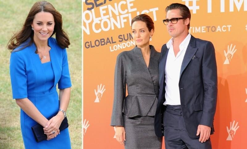 Kate Middleton y Guillermo de Cambridge se quedaron con las ganas de conocer a la pareja en Estados Unidos en 2011.