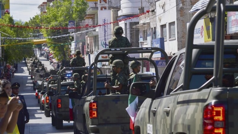 Militares en Guerrero