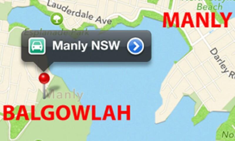 Superar a Google Maps será una de las cosas más difíciles para Apple. (Foto: Cortesía Fortune)