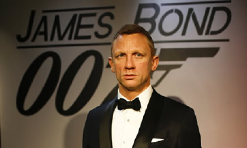 La nueva cinta del agente 007 se filmará en México hasta el 1 de abril. (Foto: AFP)