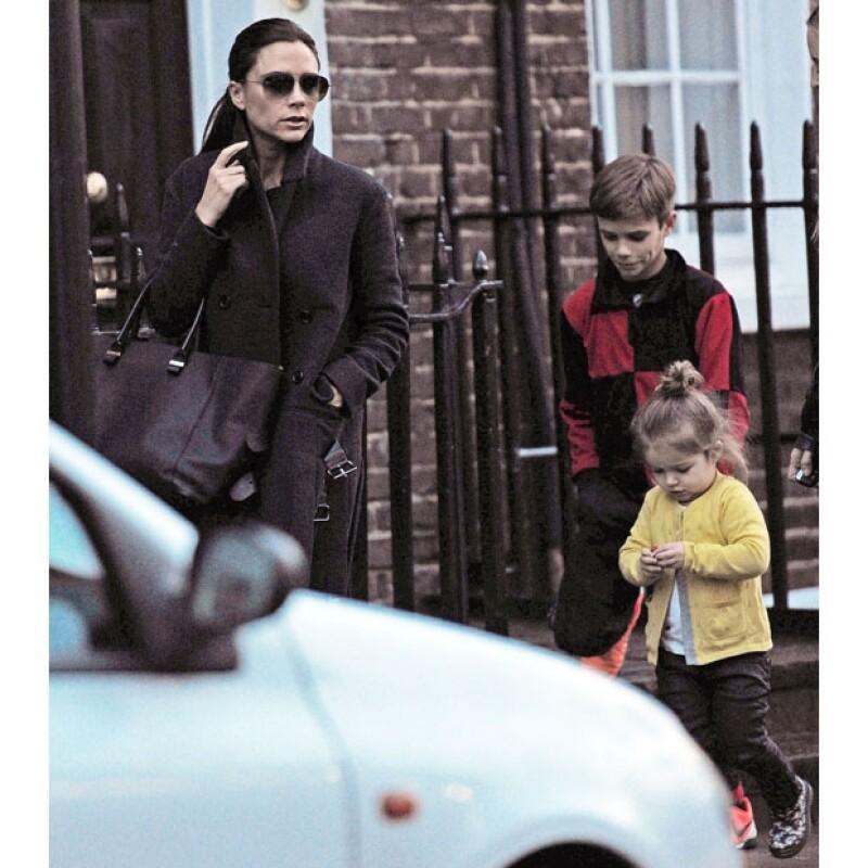 Los hijos de David y Victoria Beckham han heredado su estilo y personalidad.