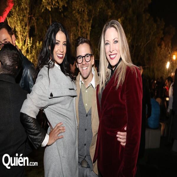 María Quiroz,Mauricio Mancera,Andrea Noli