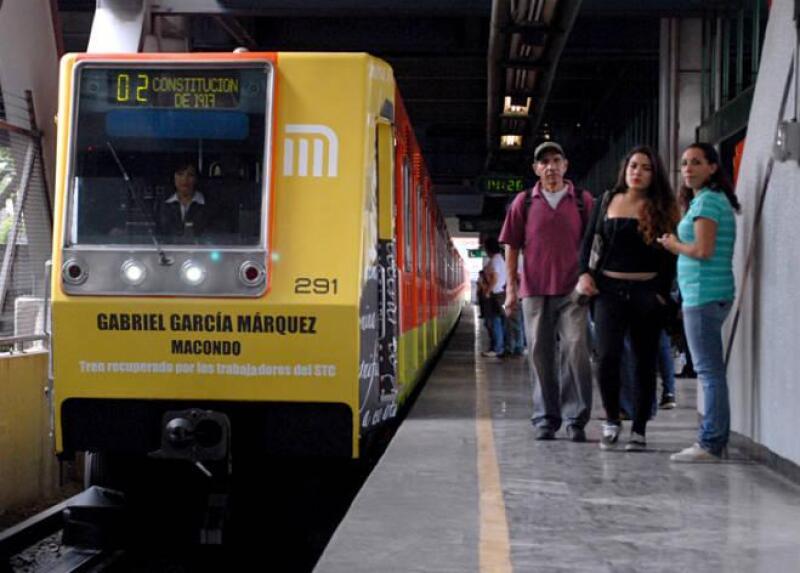Metro recuperado con nombre de 'Gabo'