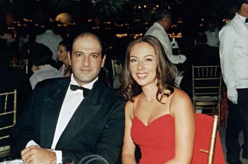 Junto a su entonces esposa Ana Paula O'Farril hace más de 10 años.