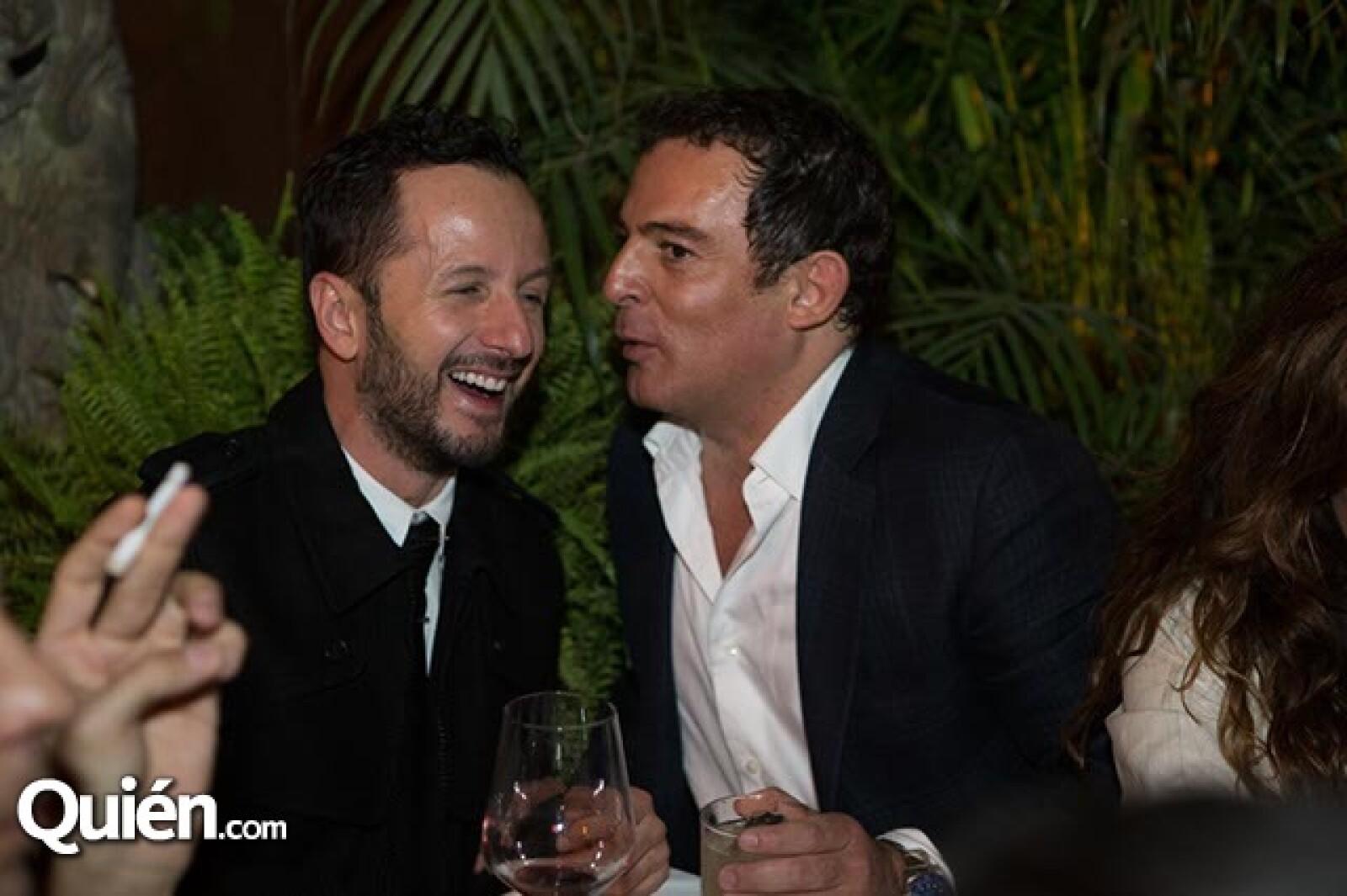 Óscar Madrazo y Eugenio López