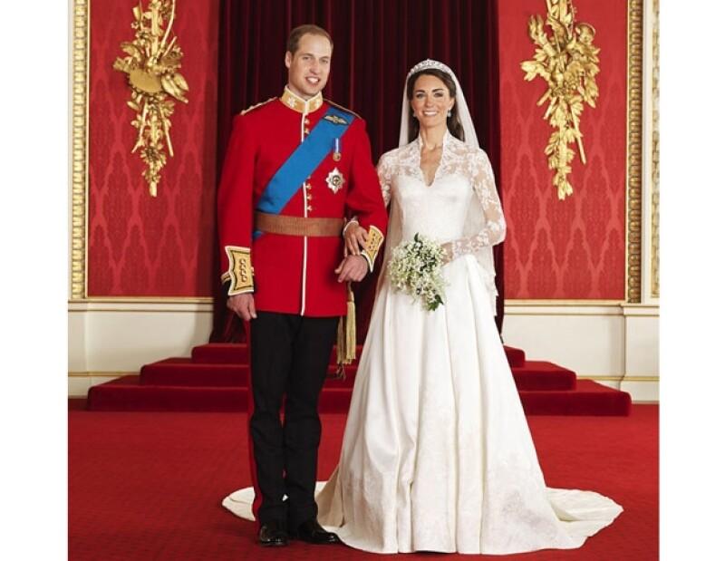 Kate y Guillermo son felices... hasta el momento.