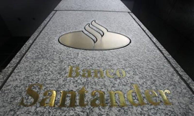 Hacienda dijo que Banco Santander es una de las entidades con más activos en el sistema financiero mexicano. (Foto: AP)