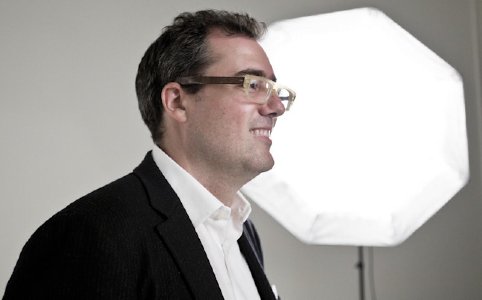 Iván Saldaña, productor y comercializador de mezcal, participa en Emprendedores 2014 con su empresa Casa Montelobos.