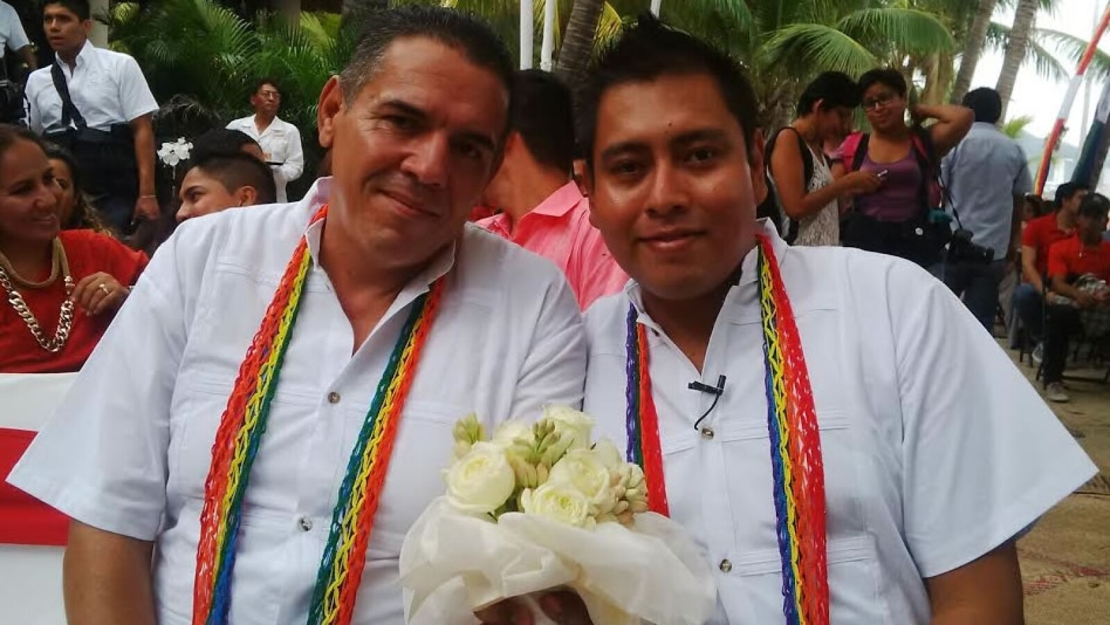 boda gay, acapulco, playa