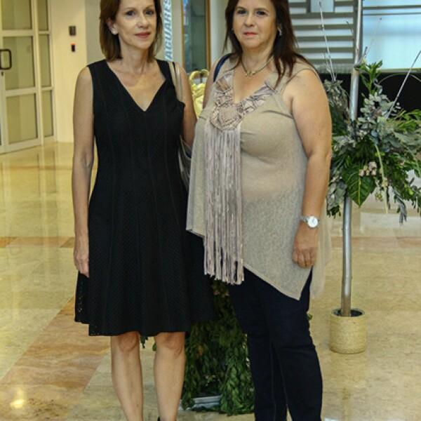 Marcela Morales y Miriam Morales.