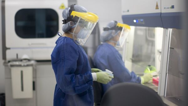 Laboratorio habilitado por la unidad de biología molecular en Nuevo León que realiza pruebas de Covid-19.
